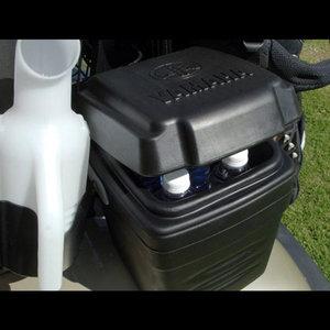 Golf car cooler